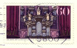 Stamp of the organ St. Jacobi Hamburg