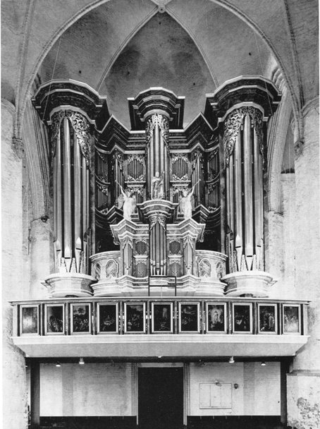 The organ from 1961-1989