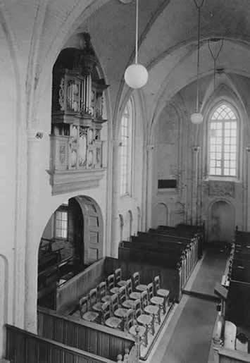 Arp Schnitger organ Harkstede, Hervormde kerk